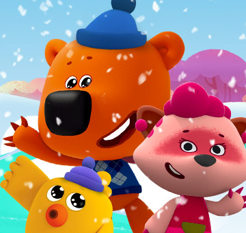 Be-be-bears — Merry Christmas
